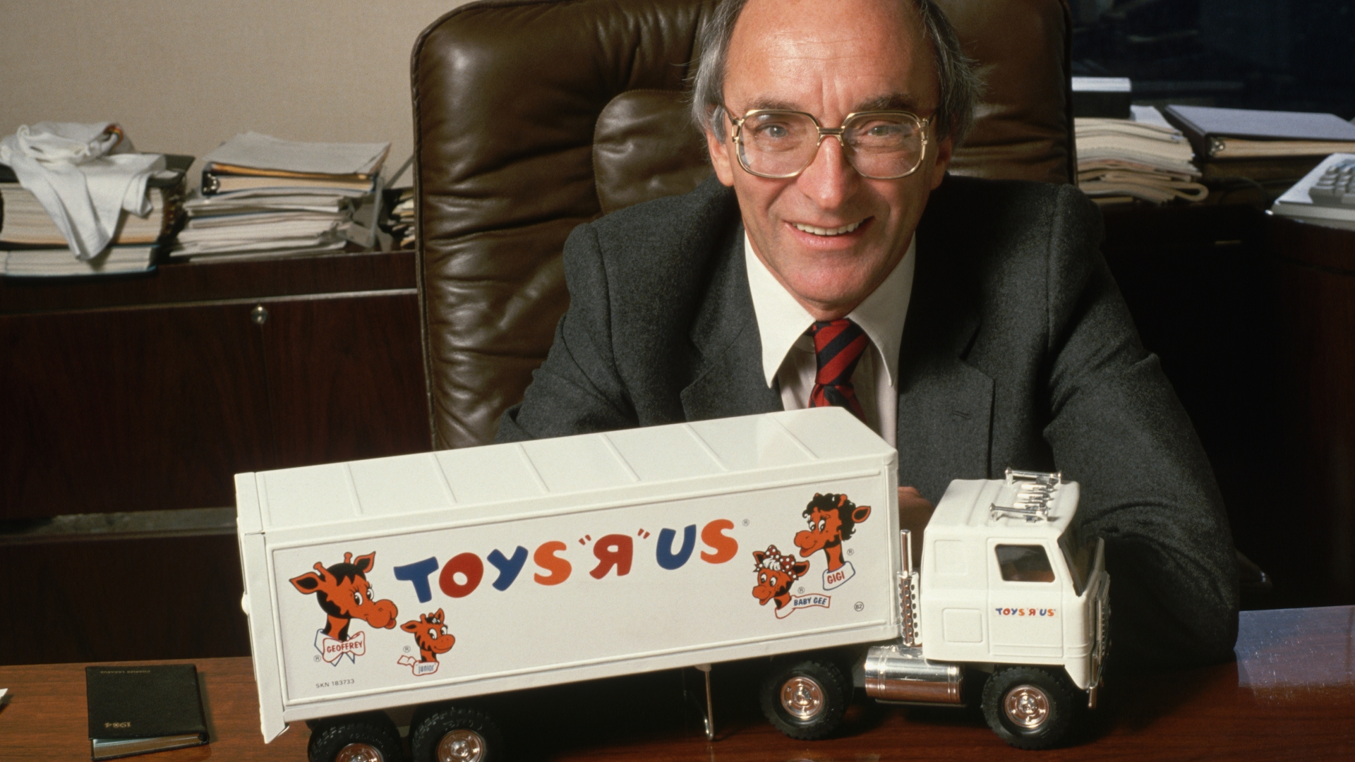 Charles Lazarus, founder of Toys R Us. (Credit: Jacques M. Chenet/CORBIS/Corbis via Getty Images)