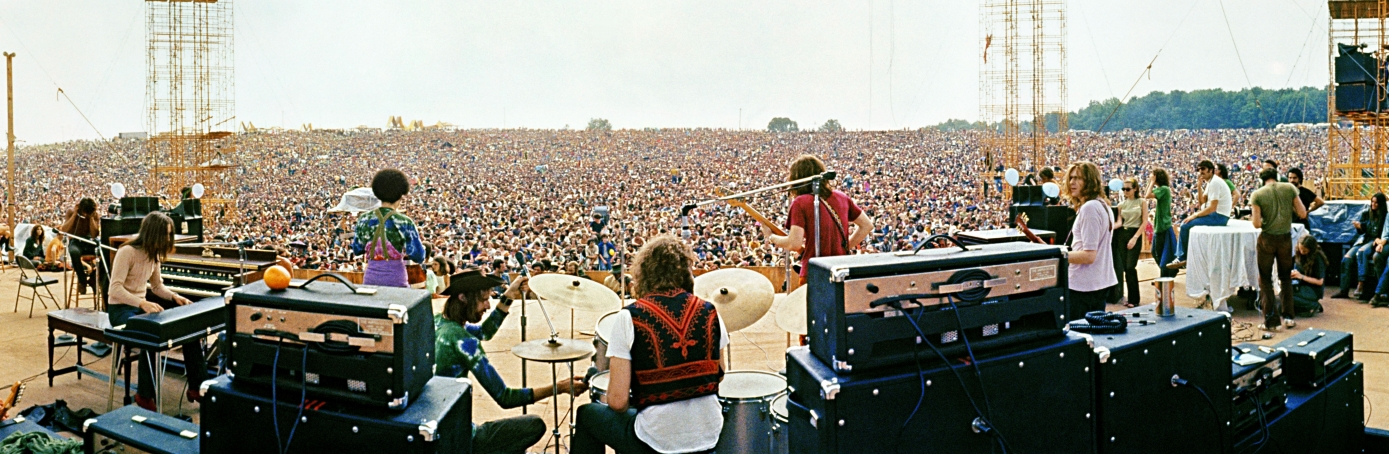 Image result for woodstock began