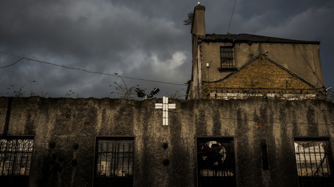 The Gloucester Street Laundry in Dublin, the last of Ireland's infamous Magdalene Laundries, which closed in 1996. (Credit: Paulo Nunes dos Santos/The New York Times/Redux)