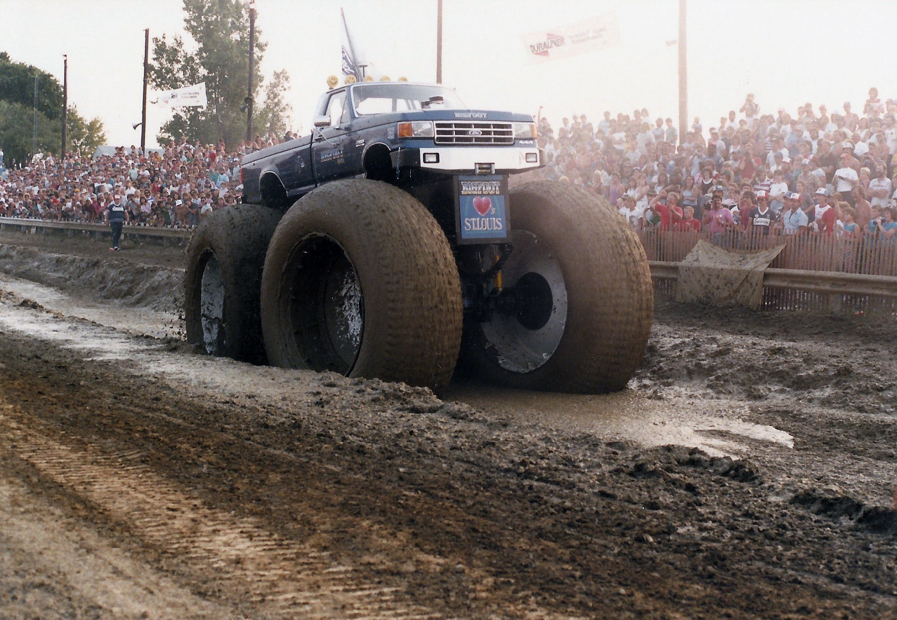 b332da1e49bac Bigfoot  5 featured 10-ft.-tall tires originally used by the U.S.