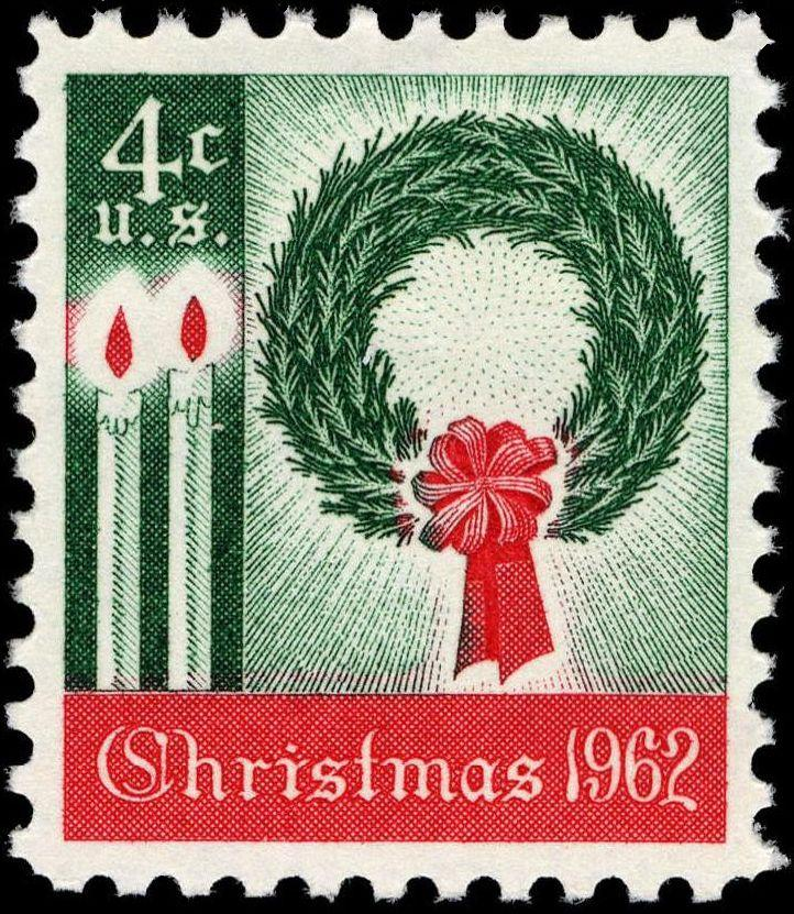 1962 Christmas stamp. (Credit: Public Domain)