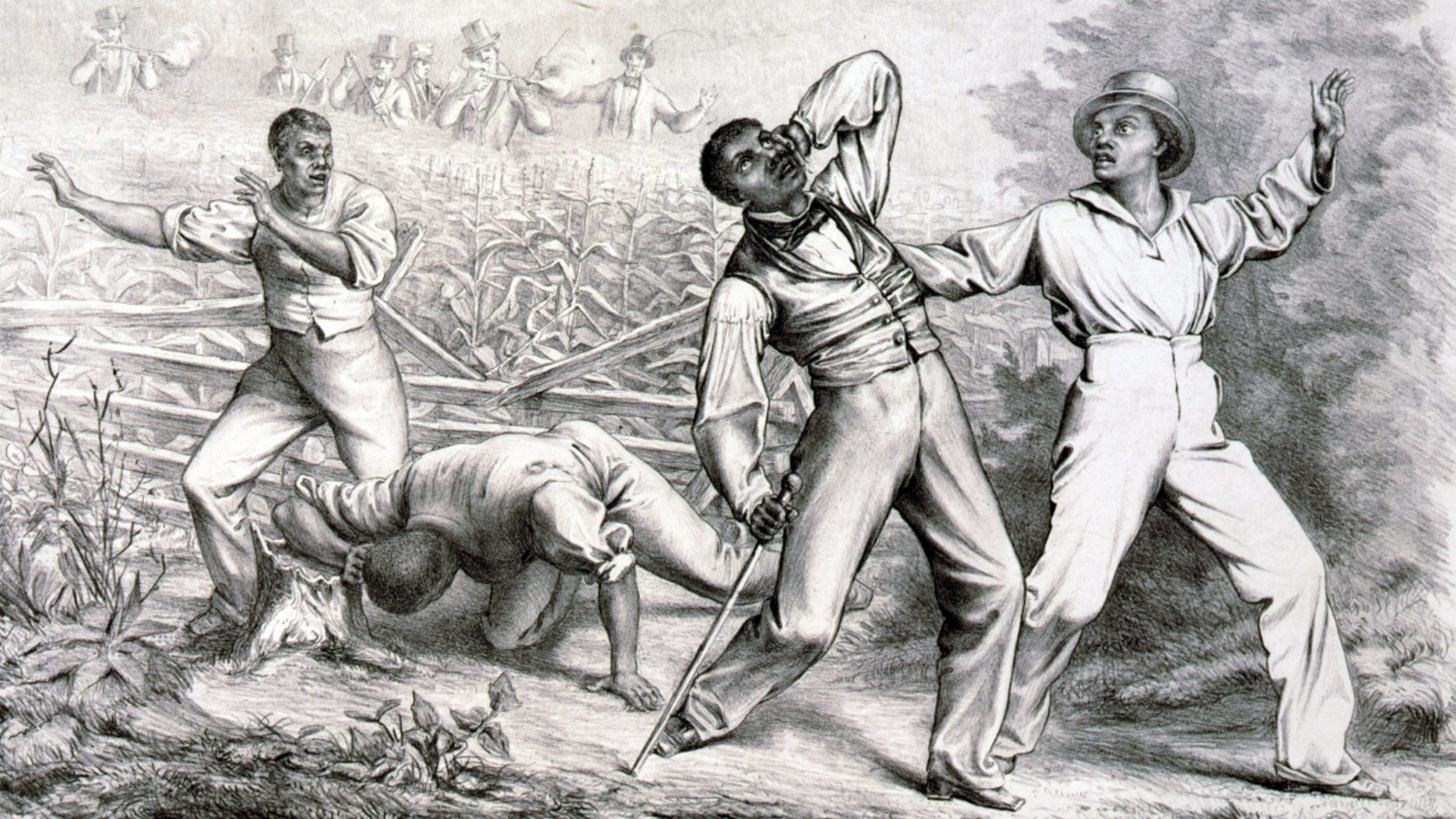 The Fugitive Slave Act increased federal and free-state responsibility for the recovery of fugitive slaves, appointing federal commissioners empowered to issue warrants for their arrest. (Credit: Universal History Archive/UIG via Getty images)