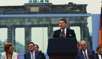 The Myth That Reagan Ended the Cold War With a Single Speech