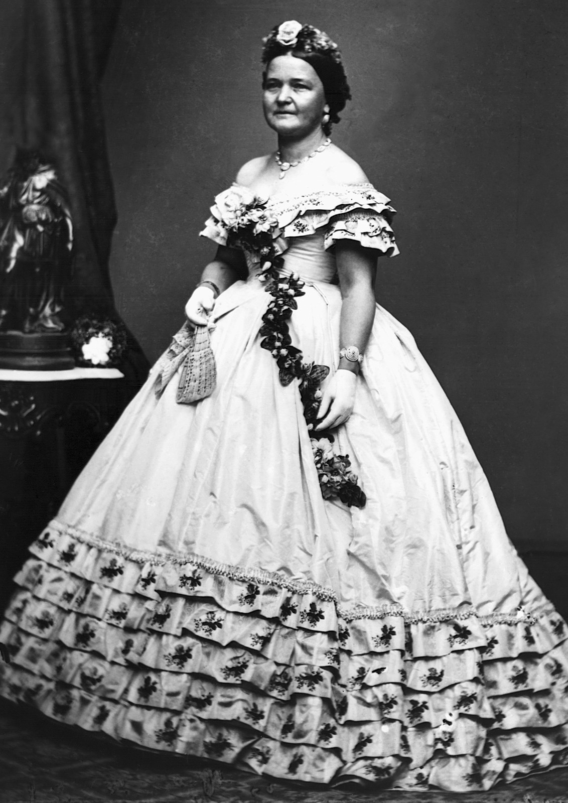 Mary Todd Lincoln (1818-1882). (Credit: Corbis/Getty Images)