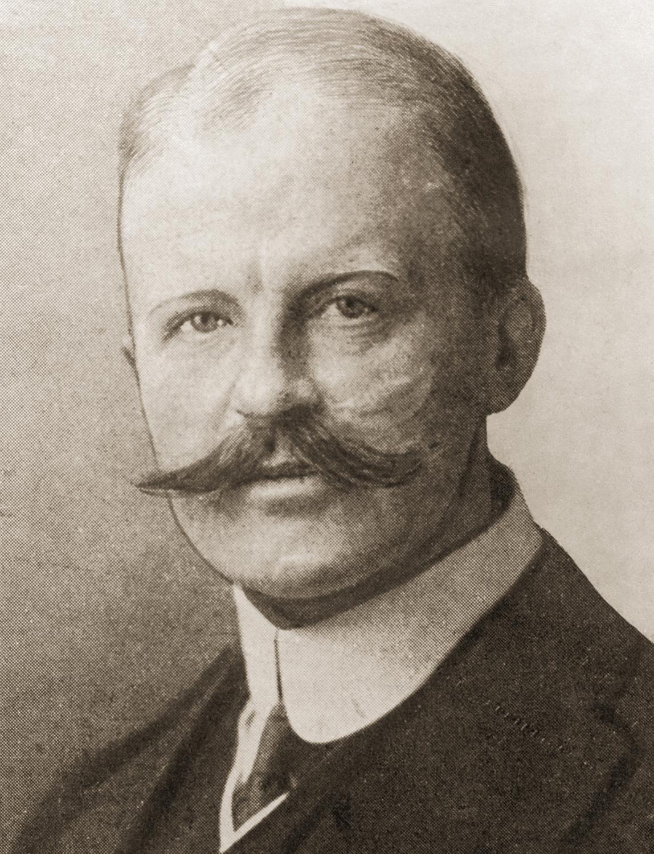 Arthur Zimmermann, circa 1910. (Credit: Paul Popper/Popperfoto/Getty Images)