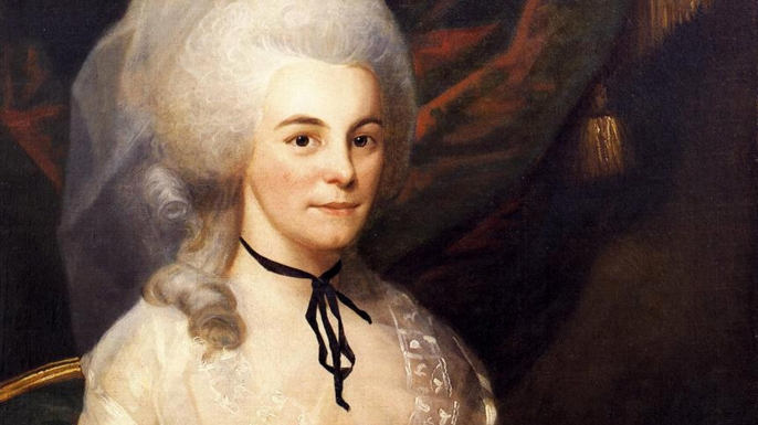 Alexander Hamilton's wife, Elizabeth Schuyler Hamilton. (Credit: ART Collection/Alamy)