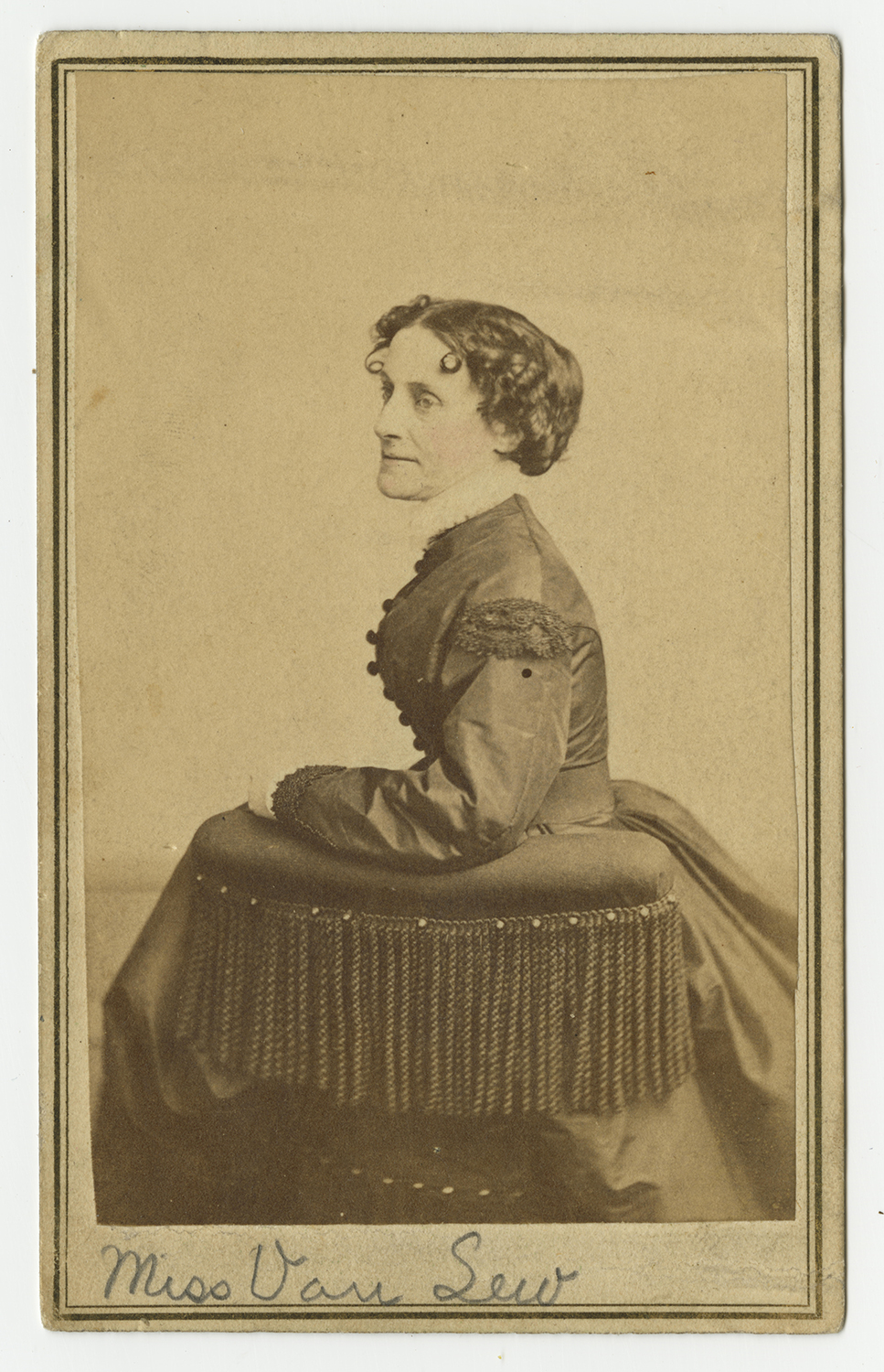 Elizabeth Van Lew. (Credit: Virginia Museum of History & Culture/Alamy)