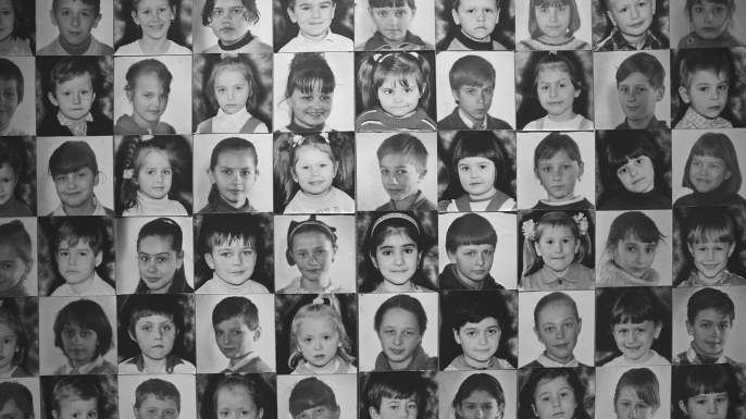 Children were affected the most by Chernobyl radioactive fallout, with 3,000 cases of thyroid cancer registered in the 1990s in Belarus, Russia and Ukraine in the population under 14 years of age. Here are the photos of the children born to the families of the liquidators and resettlers from the Chernobyl Exclusion Zone, on display in Kyiv Chernobyl museum, May 2013. (Credit: Oktay Ortakcioglu/iStock/Getty Images.)