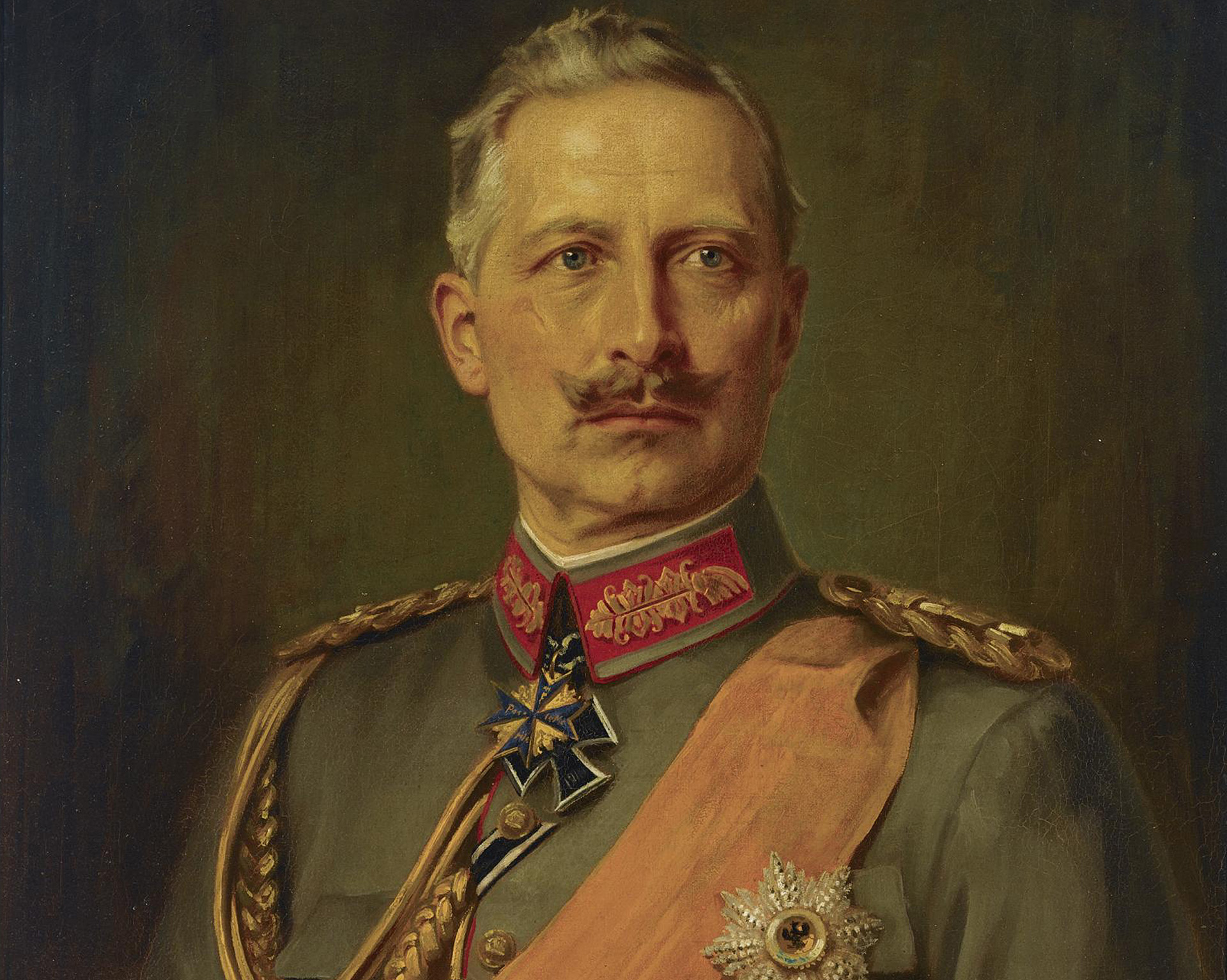 German Emperor Wilhelm II (1859-1941), King of Prussia, 1911. (Credit: Fine Art Images/Heritage Images/Getty Images)