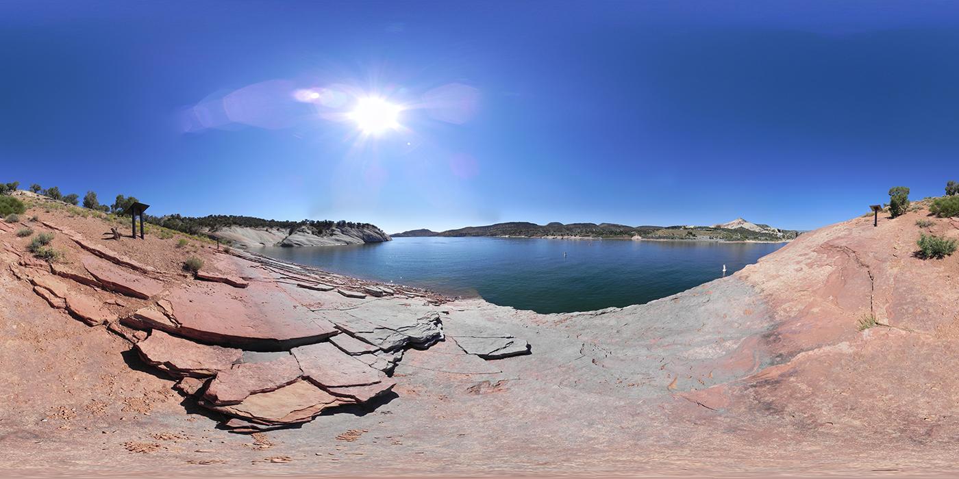 Red Fleet State Park in Utah. (Credit: John Roberts/360cities.net/Getty Images)