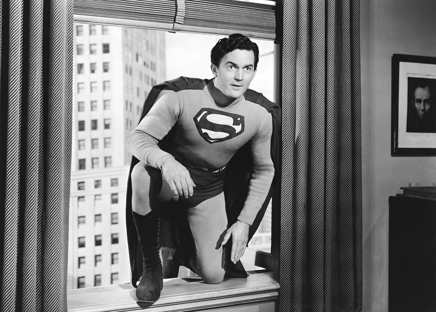 Kirk Alyn played Superman in two early film serials, starting in 1948. He later said, 'Playing Superman ruined my acting career.' (Credit: Everett Collection)