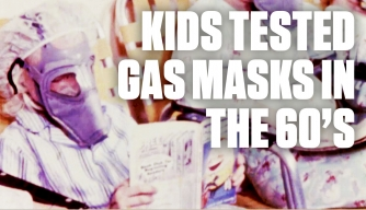 Watch the Government Test Gas Masks on Children During the Cold War