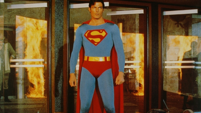 Christopher Reeve in Superman IV